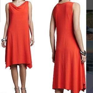 NWOT Eileen Fisher Sz L Rayon Jersey Tank Dress